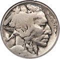 1913 5C Type One Buffalo Nickel -- Double Struck, Rotated in Collar -- VG8 NGC