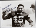 Autographs:Photos, Emlen Tunnell Signed Photograph....