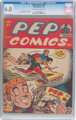 Pep Comics #47 (MLJ, 1944) CGC FN 6.0 Off-white to white pages