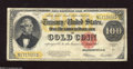 Large Size:Gold Certificates, Fr. 1215 $100 1922 Gold Certificate Fine. As the collector basegrows, better Friedberg numbers are becoming scarcer in the ...