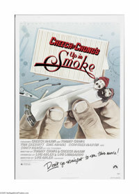 "Cheech and Chong: Up in Smoke (Paramount, 1978). One Sheet (27"" X 41""). Offered here is a folded, vintage, the..."