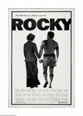 "Movie Posters:Sports, Rocky (United Artists, 1977). Poster (40"" X 60""). Offered here is a vintage, theater-used poster for this drama directed by ..."