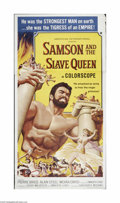 """Movie Posters:Action, Samson and the Slave Queen (AIP, 1963). Six Sheet (81"""" X 81"""").Offered here is a vintage, theater-used poster for this actio..."""