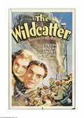 "Movie Posters:Action, The Wildcatter (Universal, 1937). One Sheet (27"" X 41""). Offeredhere is a folded, vintage, theater-used poster for this act..."