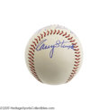 Autographs:Baseballs, 1960's Casey Stengel & Luke Appling Signed Baseball. Easily thefinest Stengel autograph we've ever seen on a baseball. Th...