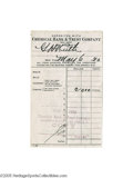 Autographs:Checks, 1940 Babe Ruth Signed Deposit Slip. Attention Ruth collectors! As the value of the Babe's personal checks continues to cli...