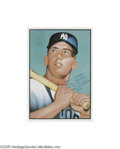 Autographs:Others, Mickey Mantle Signed 1952 Topps Lithograph. The most coveted and valuable image in post-war card collecting is augmented to...