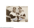 Autographs:Photos, Roger Maris & Mickey Mantle Signed Photograph. As sweet as the candy that bears the same name, this signed photograph of th...