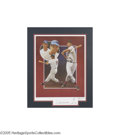 Autographs:Others, Ted Williams Signed Artist's Proof Lithograph by Paluso. With askill and humanity reminiscent of the great Saturday Evenin...