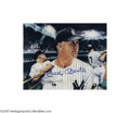 "Autographs:Photos, Hall of Famers Signed Photographs Lot of 150+. Massive collectionof 8x10"" photographs features perfect blue sharpie signa..."