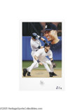 Autographs:Others, Derek Jeter Signed Lithographs Lot of 3. Limited editionlithographs each derive from noted sports artist Danny Day'sshort...