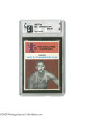 Basketball Cards:Singles (Pre-1970), 1961 Fleer Wilt Chamberlain #8 GAI NM-MT 8. The notation on theGlobal slab header states that this was the first Chamberla...