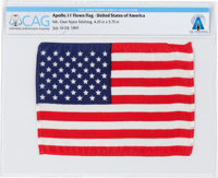 Apollo 11 Flown American Flag Directly From The Armstrong Family Collection™, Certified and Encapsulated by Collectibles...
