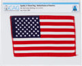Explorers:Space Exploration, Apollo 11 Flown American Flag Directly From The Armstrong Family Collection™, Certified and Encapsulated by Collectibles Authe...