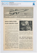 Explorers:Space Exploration, X-15: X-Press NASA Flight Research Center Publication Dated April 27, 1962, with Cover Photo of Neil Armstrong, ...