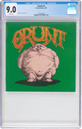 Bronze Age (1970-1979):Alternative/Underground, Grunt #1 (Grunt Records, 1972) CGC VF/NM 9.0 White pages....