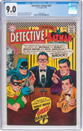 Silver Age (1956-1969):Superhero, Detective Comics #357 (DC, 1966) CGC VF/NM 9.0 Off-white to white pages....