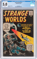 Silver Age (1956-1969):Science Fiction, Strange Worlds #2 (Marvel, 1959) CGC VG/FN 5.0 Off-white pages....
