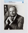 Explorers:Space Exploration, Neil Armstrong: Original NASA Photograph, the Business Suit Pose, Directly From The Armstrong Family Collection™, Certifie...