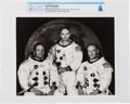 Explorers:Space Exploration, Apollo 11: Original NASA Photograph of the Prime Crew in their White Spacesuits Directly From The Armstrong Family Collect...