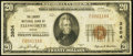 National Bank Notes, Ellsworth, ME - $20 1929 Ty. 1 The Liberty NB Ch. # 3804. ...