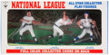 Baseball Collectibles:Hartland Statues, 1970 Transogram Baseball Complete Box with Aaron, Wynn, &Seaver....