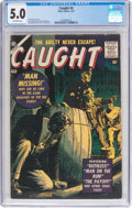 Silver Age (1956-1969):Horror, Caught #4 (Atlas, 1957) CGC VG/FN 5.0 Off-white pages....