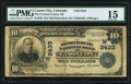 National Bank Notes:Colorado, Canon City, CO - $10 1902 Plain Back Fr. 626 The Fremont County NBCh. # (W)8433. ...