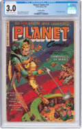 Golden Age (1938-1955):Science Fiction, Planet Comics #71 Canadian Edition (Fiction House, 1953) CGC GD/VG3.0 Cream to off-white pages....