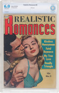 Golden Age (1938-1955):Romance, Realistic Romances #2 (Avon, 1951) CBCS FN 6.0 Off-white to white pages....