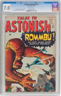 Silver Age (1956-1969):Horror, Tales to Astonish #19 (Marvel, 1961) CGC FN/VF 7.0 Off-whitepages....