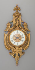 Clocks & Mechanical:Clocks, A French Louis XVI-Style Gilt Bronze Cartel Clock, early 20th century. Marks to clock face: J. MEYER, 31.33. Bd St. Martin...