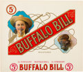 "Advertising:Tobacciana, William F. ""Buffalo Bill"" Cody: Colorful Large Cigar Box Label. ..."