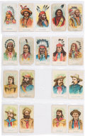 Advertising:Paper Items, American Caramel Cards: Collection of Eighteen Different....
