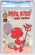 Silver Age (1956-1969):Humor, Devil Kids Starring Hot Stuff #1 File Copy (Harvey, 1962) CGC NM+ 9.6 Off-white to white pages....