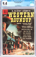 Silver Age (1956-1969):Western, Dell Giant Comics Western Roundup #25 (Dell, 1959) CGC NM 9.4Off-white to white pages....