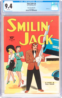 Four Color #4 Smilin' Jack - Mile High Pedigree (Dell, 1942) CGC NM 9.4 White pages