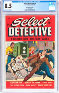 Golden Age (1938-1955):Crime, Select Detective #3 - Mile High Pedigree (D.S. Publishing, 1949) CGC VF+ 8.5 Off-white to white pages....