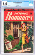Golden Age (1938-1955):Romance, Pictorial Romances #20 (St. John, 1953) CGC FN 6.0 Cream to off-white pages....