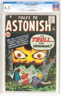 Silver Age (1956-1969):Horror, Tales to Astonish #21 (Marvel, 1961) CGC FN+ 6.5 Cream to off-whitepages....