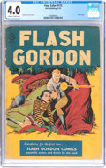 Golden Age (1938-1955):Science Fiction, Four Color #173 Flash Gordon (Dell, 1947) CGC VG 4.0 Off-white towhite pages....