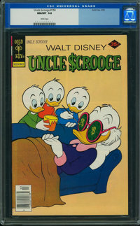 Uncle Scrooge #150 (Dell, 1978) CGC NM/MT 9.8 White pages