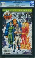 Modern Age (1980-Present):Superhero, Fantastic Four V3#47 (Marvel, 2001) CGC NM/MT 9.8 WHITE pages.