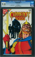 Modern Age (1980-Present):Science Fiction, Camelot 3000 #3 (DC, 1983) CGC NM/MT 9.8 WHITE pages.