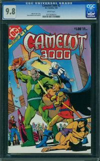 Camelot 3000 #2 (DC, 1983) CGC NM/MT 9.8 WHITE pages