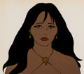 Animation Art:Color Model, Fire and Ice Teegra Color Model Cel (Ralph Bakshi/20thCentury Fox, 1983)....