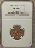 Curacao, Curacao: 6-Piece Group of NGC Certified Dutch Colony Minors,... (Total: 6 coins)