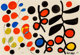 Alexander Calder (1898-1976) Black is Dominant, 1969 Gouache and ink on paper 29-1/2 x 43-1/8 inches (74.9 x 109.5 cm