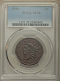 Large Cents, 1816 1C VF30 PCGS. N-4, R.2....