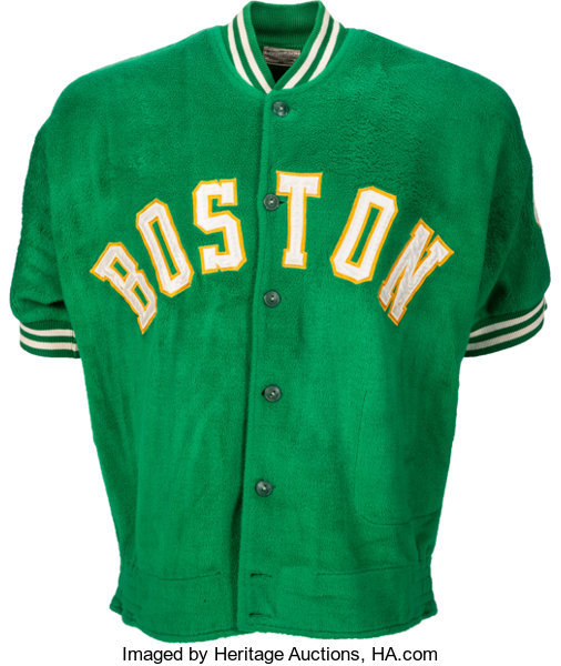 341f664f9cc Early to Mid-1960 s Bill Russell Game Worn Boston Celtics